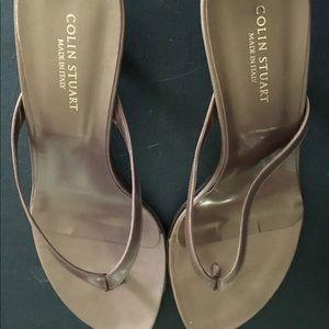 Brand New Colin Stuart Brown Sandals Size 10